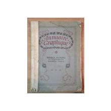 ANNUAIRE GRAPHIQUE 1910 - 1911 II
