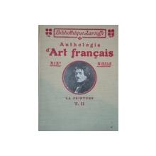 ANTHOLOGIE D'ART FRANCAIS.LA PEINTURE XIXe SIECLE par CHARLES SAUNIER  TOME 11