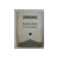 ANTOLOGIA TOAMNEI. ANTOLOGIE de ION PILLAT  1921
