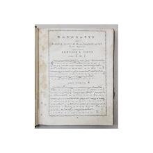 ANTONN PANN ,IRMOLOGHION SAU CATAVASIER, LIPSA FILA DE TITLU   , BUCURESTI 1846