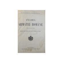 ANUARUL ARMATEI ROMANE PE ANUL 1905 , BUCURESCI 1905