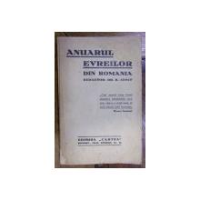 ANUARUL EVREILOR DIN ROMANIA (1937)