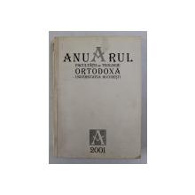 ANUARUL FACULTATII DE TEOLOGIE ORTODOXA ' PATRIARHUL JUSTINIAN ' , ANUL UNIVERSITAR 2000 - 2001 , APARUT 2001