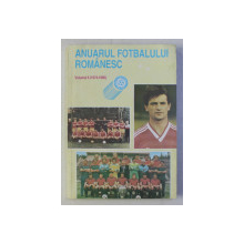 ANUARUL FOTBALULUI ROMANESC , VOLUMUL 6 - 1974 - 1990 de RAUL ALEXANDRESCU ...PANDELE TARANU , 1993
