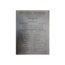 Anuarul general al orasului Galati si Judetului Covurlui  -GALATI 1931
