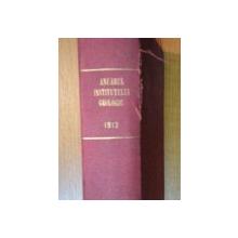 ANUARUL INSTITULUI GEOLOGIC 1912