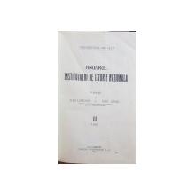 ANUARUL INSTITUTULUI DE ISTORIE NATIONALA publicat de ALEX. LAPEDATU SI IOAN LUPAS   CLUJ 1924 ,CONTINE DEDICATIA LUI ALEX. LEPADATU