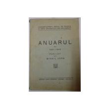 ANUARUL PE 1941-1942 PUBLICAT de MIHAIL JORA