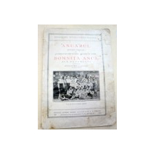 ANUARUL SCOALEI NORMALE DE CONDUCATOARE PENTRU GRADINI DE COPII ''DOMNITA ANCA'' DIN BUCURESTI ALCATUIT DE STELLA BURNEA (1919-1930)