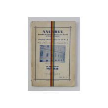ANUARUL SCOALEI PRIMARE URBANE DE BAETI ' SPIRU HARET ' SI A SCOALEI PRIMARE URBANE DE FETE NR. 1 DIN TIMISOARA - CETATE , intocmit de IULIU VULPE ,  PE ANUL 1937 -1938