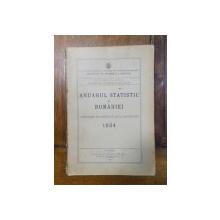 Anuarul statistic al Romaniei 1934