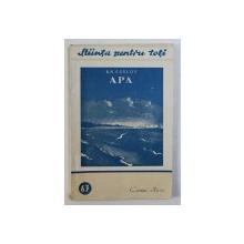 APA de B. N. SUSLOV , 1952