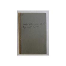 APELUL CATRE UNIRE AL LUI CUZA - VODA LA 1859 de NICOLAE IORGA , 1931