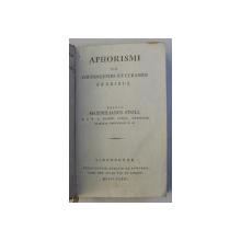 APHORISMI DE COGNOSCENDIS ET CURANDIS FEBRIBUS , editit MAXIMILIANUS STOLL , clinicae professor ,1786