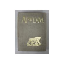 APVLVM VII / II - ACTA MVSEI APVLENSIS - SEMICENTENARUL UNIRII 1918 - 1968 , APARUTA 1969