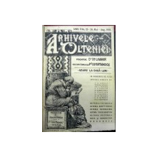 ARHIVELE OLTENIEI, ANUL V, NR. 25-26, MAI-AUGUST 1926