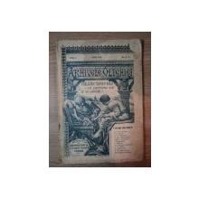 ARHIVELE OLTENIEI, ANUL I, NR.2-3, iunie 1922