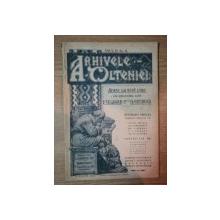 ARHIVELE OLTENIEI, ANUL II, NR. 6 MARTIE -APRILIE 1923