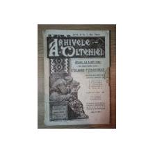 ARHIVELE OLTENIEI, ANUL II, NR. 7 MAI-IUNIE 1923