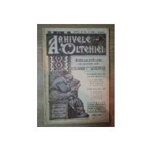 ARHIVELE OLTENIEI, ANUL II, NR. 8 IULIE- AUGUST 1923