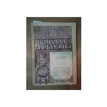 ARHIVELE OLTENIEI, ANUL VI, NR. 32-33  IULIE-OCT. 1927