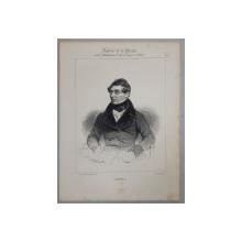 ARNAL , GRAVURA PE METAL , IMP. D 'AUBERT et Cie., MONOCROMA, MIJLOCUL SEC. XIX
