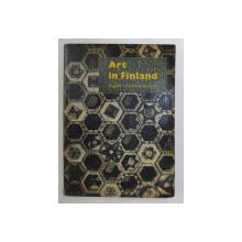 ART IN FINLAND by SAKARI SAARIKIVI ... HILDING EKELUND , 1981 *EDITIE TRILINGVA