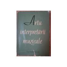 ARTA INTERPRETARII MUZICALE , 1960