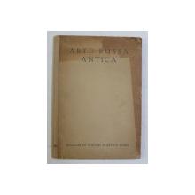 ARTE RUSA ANTICA , VOLUME V di FANNINA W. HALLE , EDITIE INTERBELICA