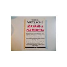 ASA GRAIT-A ZARATHUSTRA-NIETZSCHE  1991