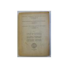 ASOCIATIA GEOLOGICA CARPATO - BALCANICA - CONGRESUL AL V - LEA , VOLUMUL IV  - COMUNICARI STIINTIFICE SECTIA III - TECTONICA , 4 - 19 SEPTEMBRIE , 1961