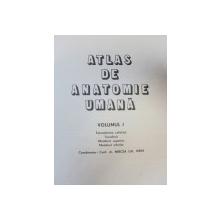 ATLAS DE ANATOMIE UMANA de MIRCEA GH. IFRIM  VOL 1  BUCURESTI 1983