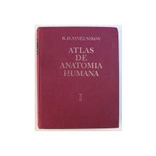 ATLAS DE ANATOMIE UMANA VOL.I BUCURESTI 1984-R.D.SINELNIKOV