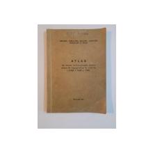 ATLAS DE SEMNE CONVENTIONALE PENTRU PLANURILE TOPOGRAFICE LA SCARILE 1:2000 , 1:1000 ,1:500 , 1971