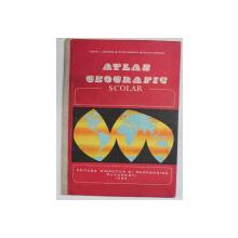 ATLAS GEOGRAFIC,SCOLAR-EUSTATIU C.GREGORIAN,VICTOR DUMITRESCU,NICOLAE GHEORGHIU