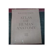 ATLAS OF HUMAN ANATOMY VOL.III 1990(ENGLEZA)-R.D.SINELNIKOV