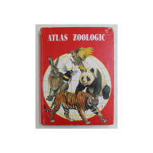 ATLAS ZOOLOGIC de PROF. ANUTA IONESCU ANDREI , Bucuresti 1996 COPERTI UZATE