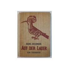 AUF DER LAUER - EIN TIERBUCH  ( IN ASTEPTARE / LA PANDA  - CARTE DESPRE ANIMALE ) von HANS ZOLLINGER , 1942