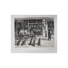 Auguste Raffet (1804-1860) - BOUCHER ET AUTRES MARCHAND TATARS
