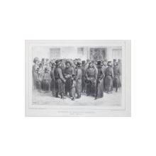 Auguste Raffet (1804-1860) - Comercianti in piata din Odesa