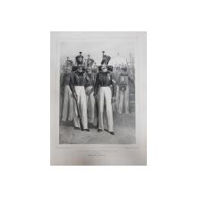 Auguste Raffet (1804-1860) - SOUS OFFICIER ET SOLDATS DU REGIMENT DE VOLHYNIE
