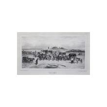 Auguste Raffet (1804-1860) - Statia de posta, Moldova, 1837