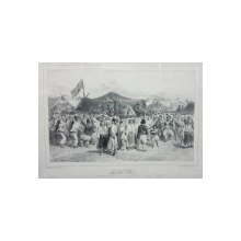 Auguste Raffet (1804-1860) - Targul de Sf. Petru, Valahia, 1837