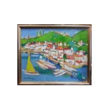 Augustin Costinescu  - Peisaj din Capri