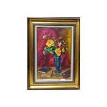 Aurel Bordenache (1902-1987) - Vas cu trandafiri