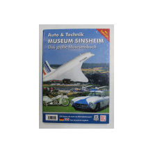 AUTO und TECHNIK MUSEUM SINSHEIM / TECHNIK MUSEUM SPEYER , COLEGAT DE DOUA CARTI , TIPARITA FATA - VERSO , 2009, LIPSA CD *