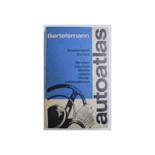 AUTOATLAS BERTELSMANN - DEUTSCHLAND , EUROPA , 1971