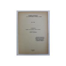 AUTOREFERATUL LUCRARII DE DISERTATIE PENTRU DOCTORAT , REYMONT (STUDIU MONOGRAFIC) de STAN VELEA , 1967