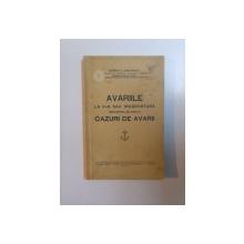 AVARIILE LA VAS SAU INCARCATURA (PROCEDURA DE URMAT). CAZURI DE AVARII de GEORGE G. STEFANESCU  1933