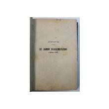 AVICULTURE - LE JARDIN D'ACCLIMATATION par E. LEROY